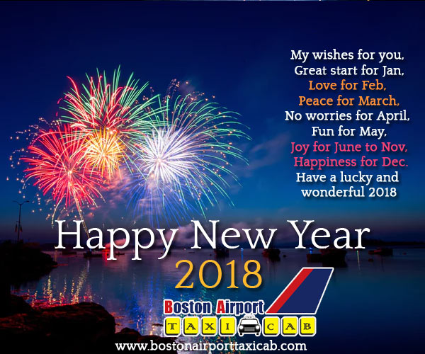 bostonairporttaxicabcom wishes you and your family a very happy and happening new year
