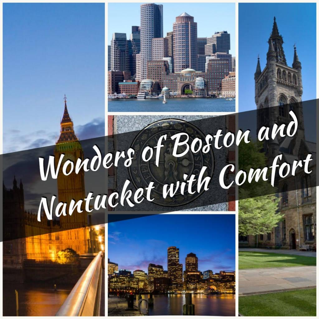 wonders of Boston and Nantucket with comfort